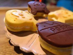 ダイソーのシリコン型で作る!チョコパイ風プチケーキのレシピ