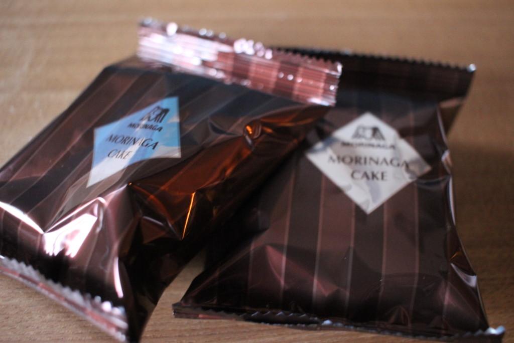 森永ミルクチョコレートのパッケージ