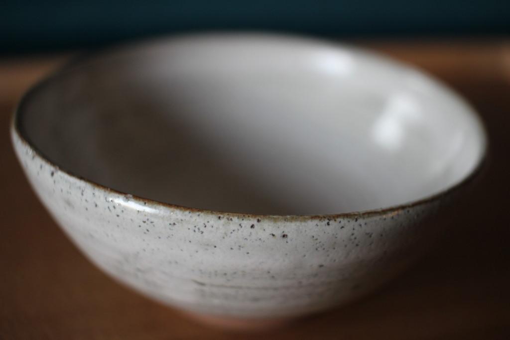 ロクロ体験で出来上がったお茶碗の画像