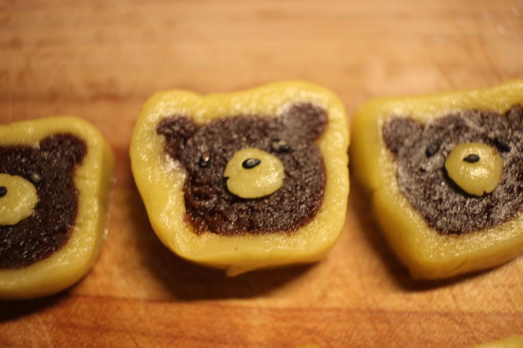 ミルームで作ったクッキー作りの工程の画像