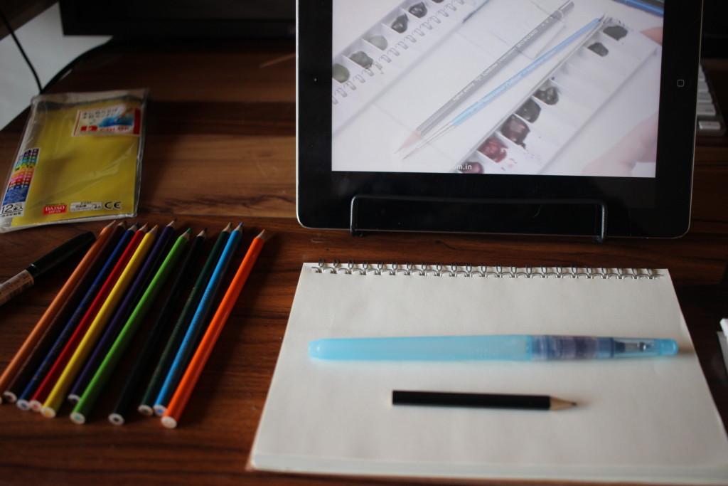 MIROOM(ミルーム)でイラストを習っている様子の画像