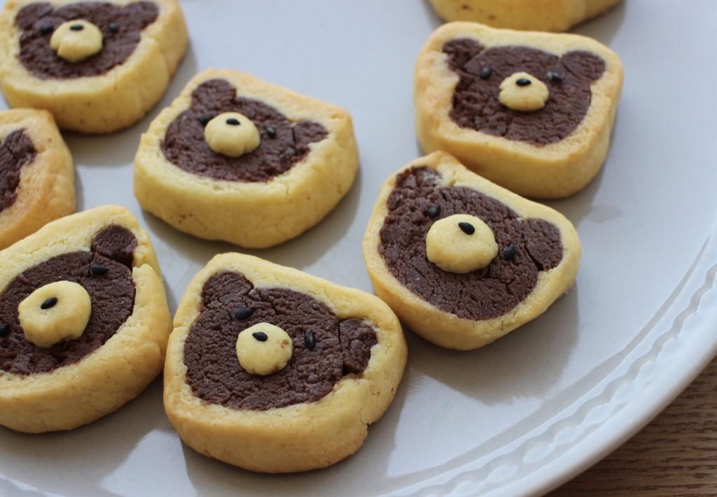 ミルームで作ったくまさんクッキーの画像