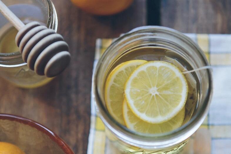 レモンの蜂蜜漬けの画像