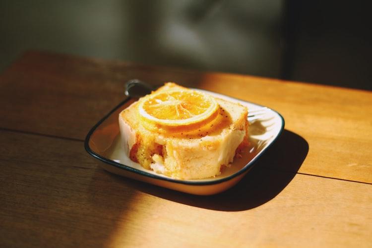 レモンケーキの画像