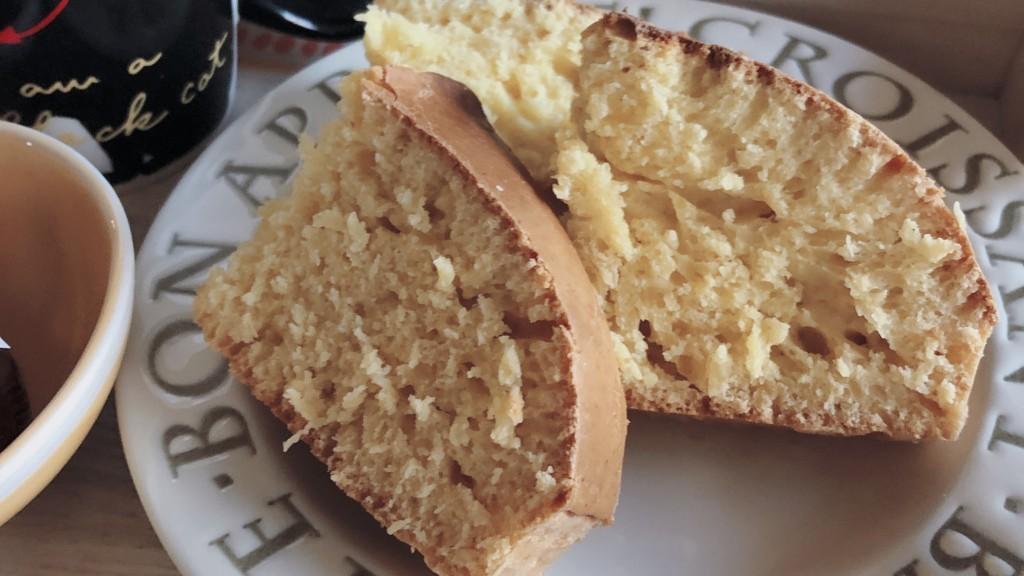 完成したノンオイルパウンドケーキの画像