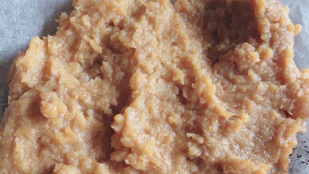 冷や汁に入れる味噌を焼いてている画像