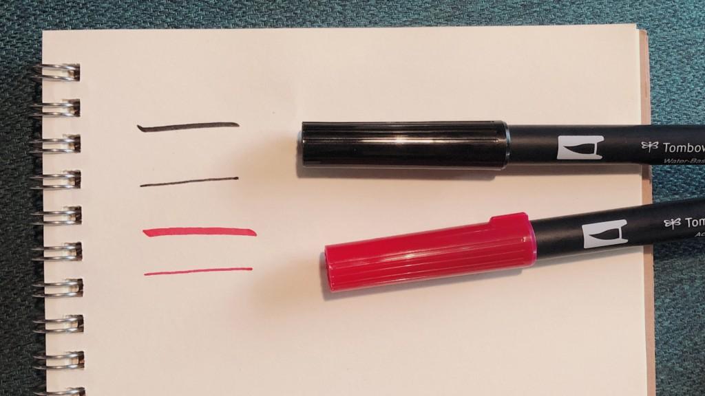 MIROOM(ミルーム)から届いたレタリングのペン