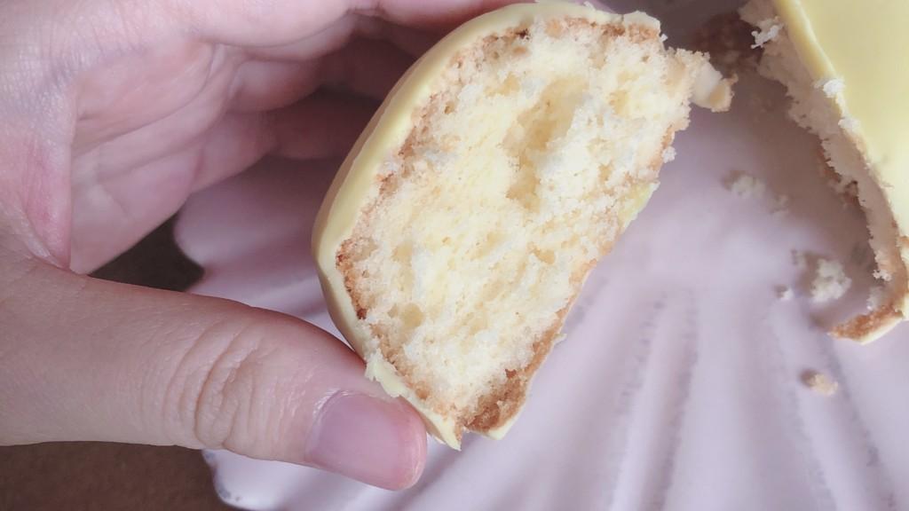 ダイソーのレモンケーキを冷やして食べた時の味