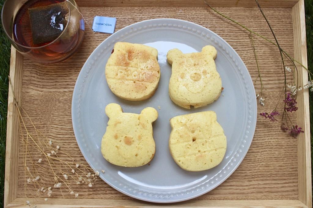 油で揚げない!ダイソーのシリコン型で作るプーさんドーナツの材料