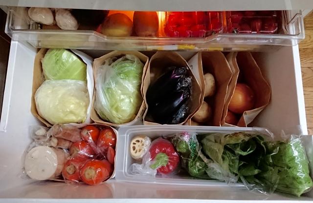 ⑩野菜の保管