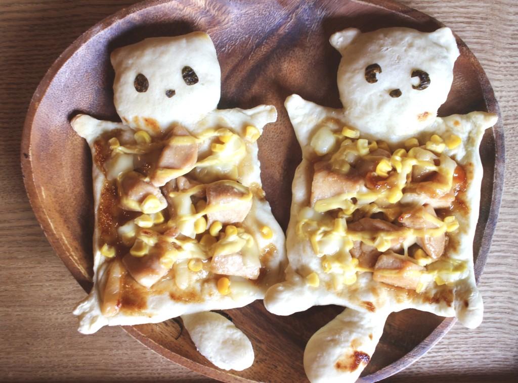 ランチにもぴったり!モモンガさんの可愛いピザでおうち時間を楽しもう