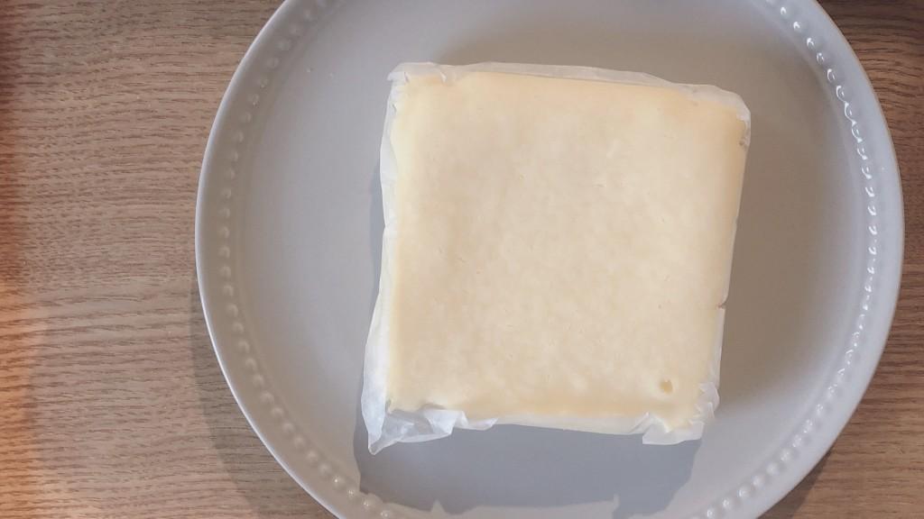 濃い味クリームチーズケーキの味