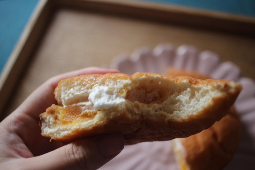 山崎製パンの栗かぼちゃあんドーナツの味