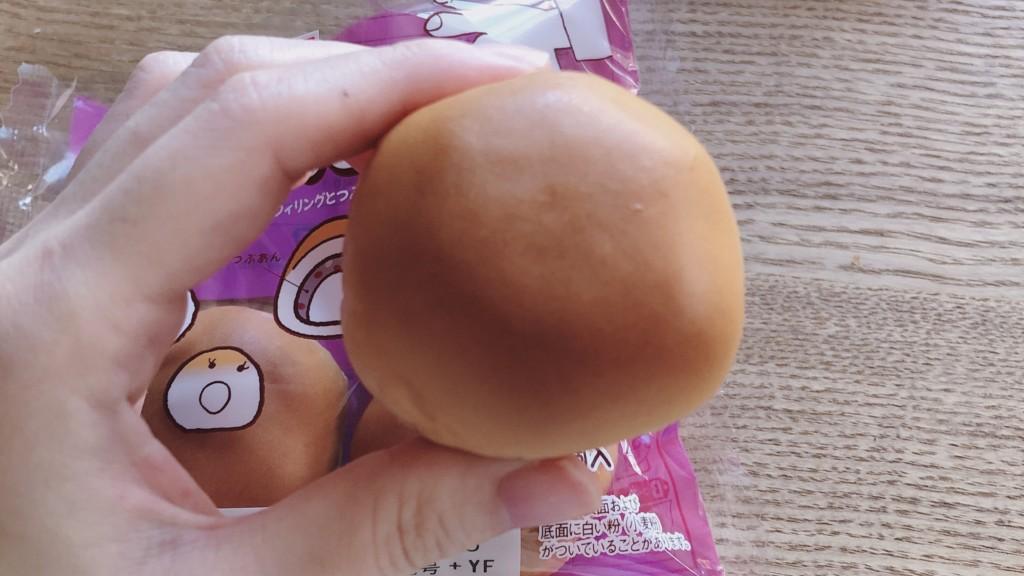 ヤマザキ製パンのあんもっちの見た目