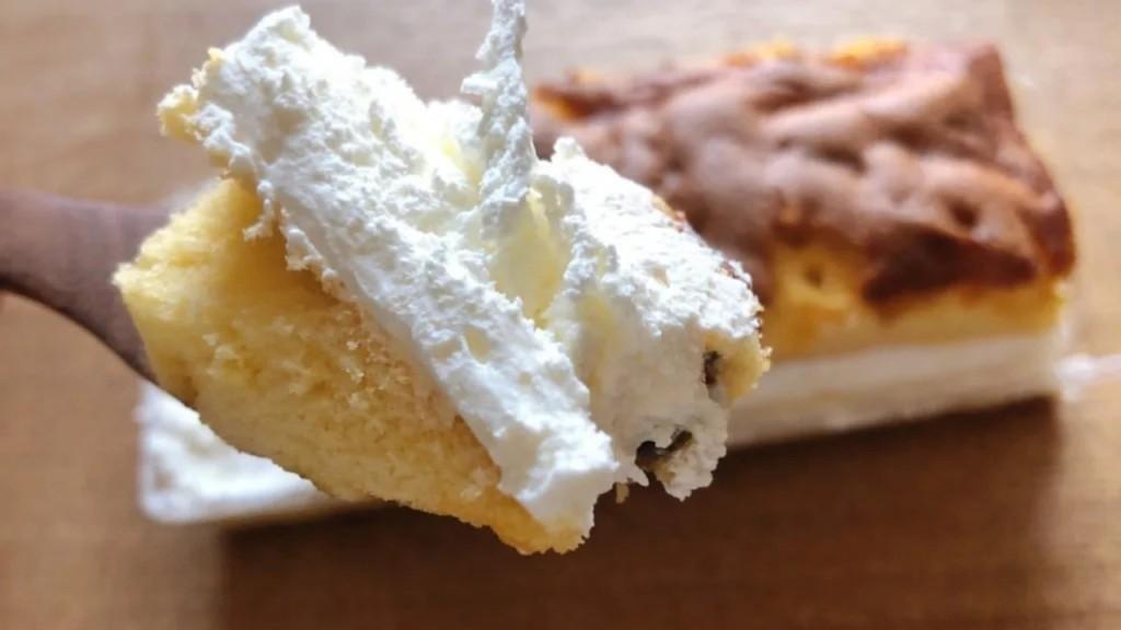 コンビニスイーツランキング5位「ジャージー牛乳入りカステラ風サンドケーキ」
