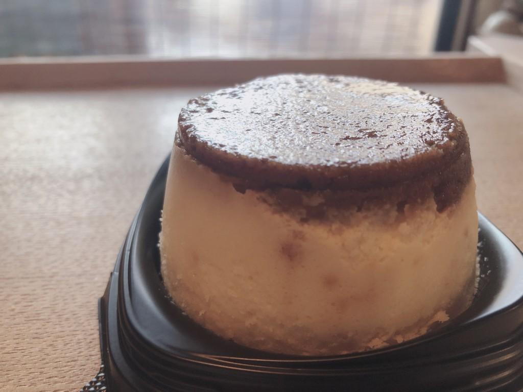 プリン!?なチーズケーキはしゅわしゅわ食感が堪らないスイーツ♪