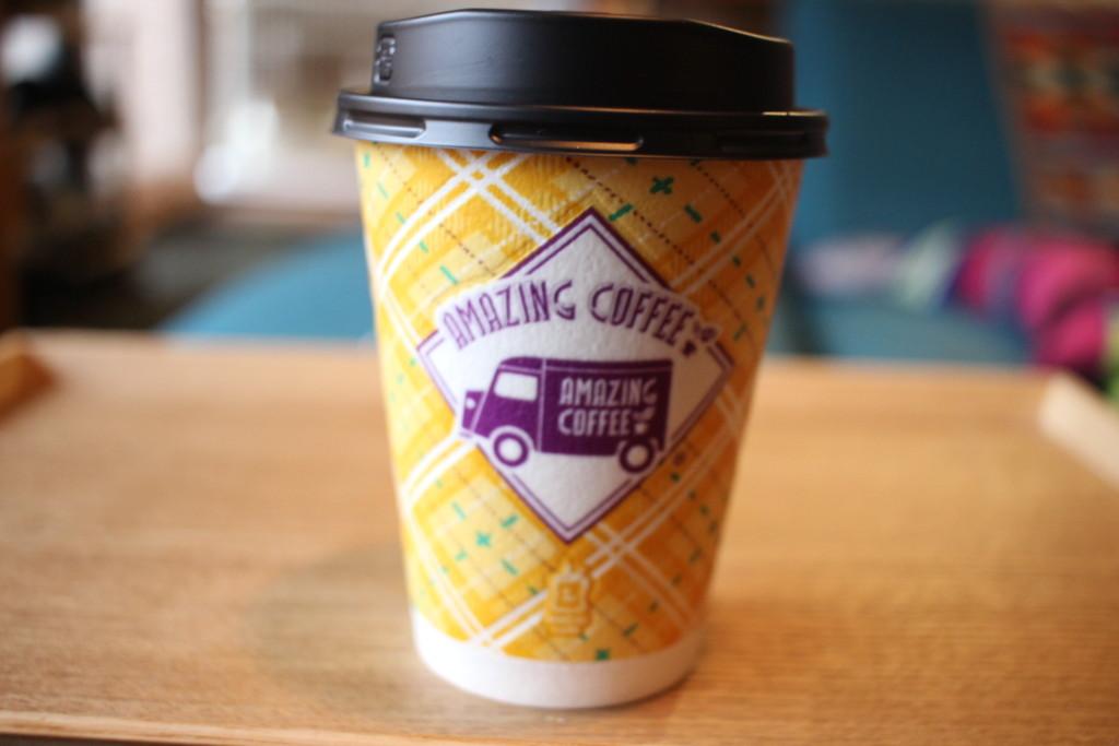 アメージングコーヒー×ローソンのコラボ第5弾!「アメージング ジャスミンカフェラテ」を飲んでみた!