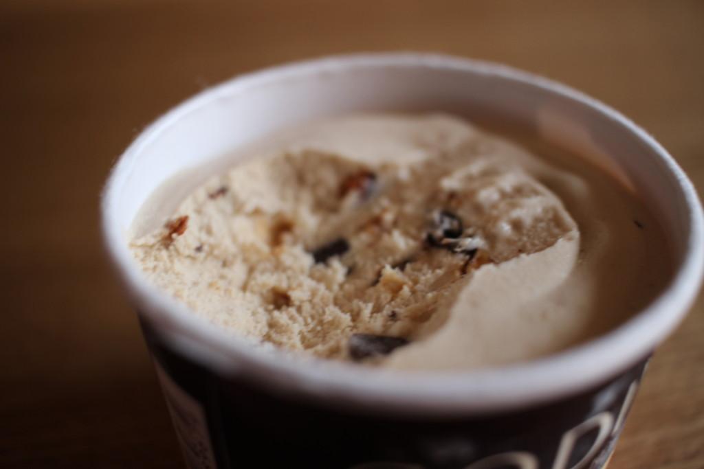 GODIVAのヘーゼルナッツプラリネ&ハートチップアイスの気になるお味
