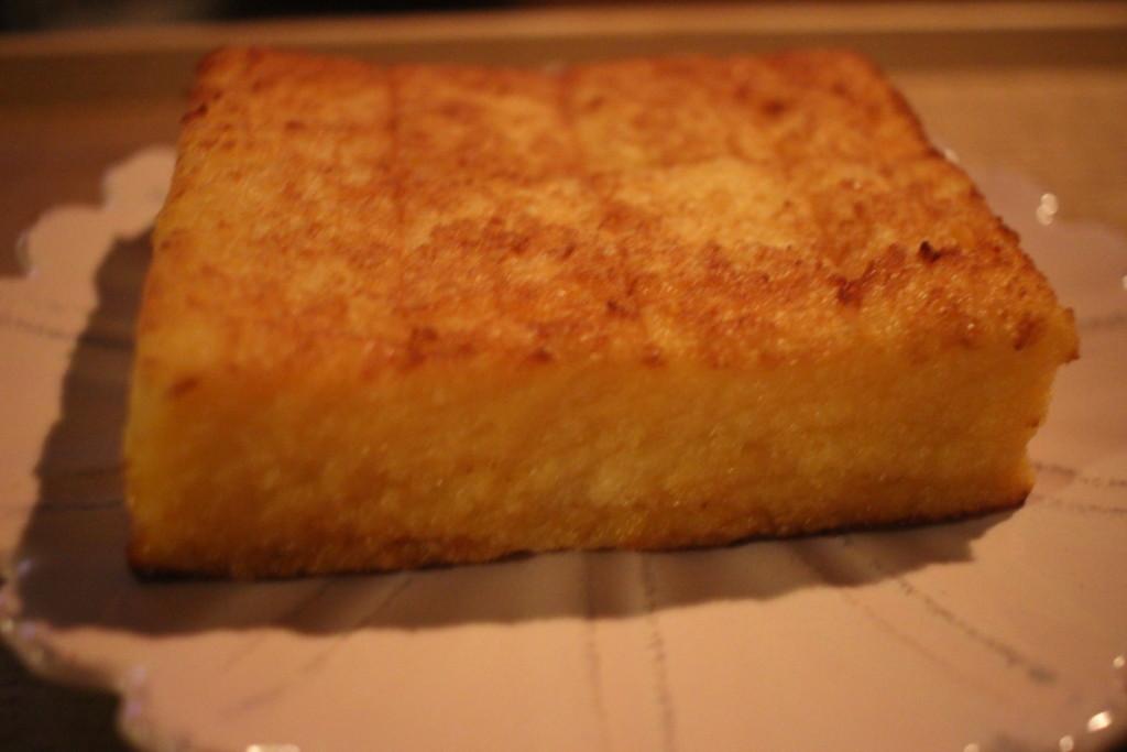 ローソンの「バター香るジューシーフレンチトースト」の見た目