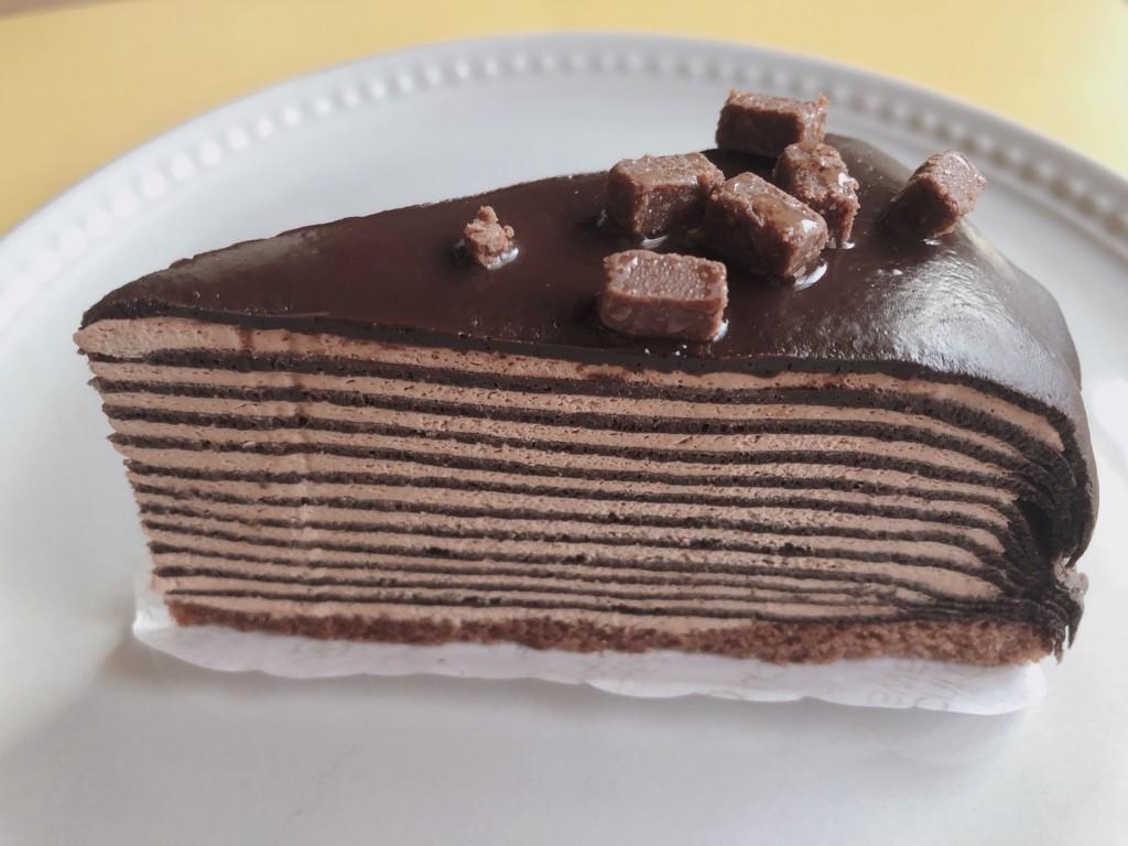 【ローソン】生ショコラミルクレープの味