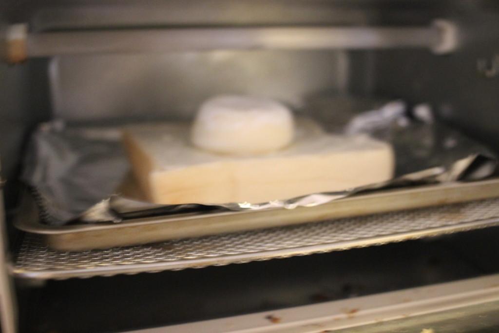 ③トースターでこんがり焼く