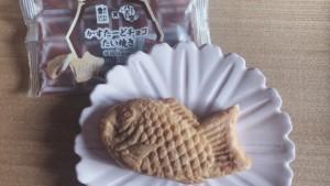 ローソン×八天堂!かすたーどチョコたい焼きを実食レビュー