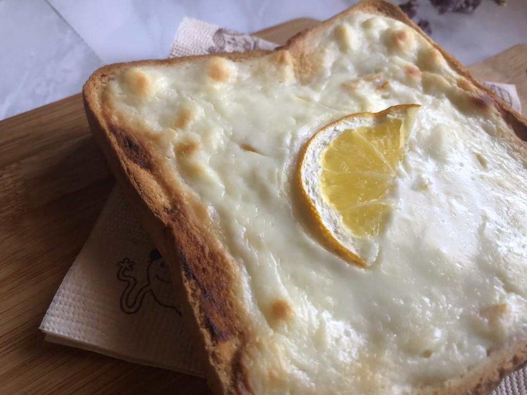 クリームチーズを使った「爽やかレモンチーズケーキ食パン」の作り方