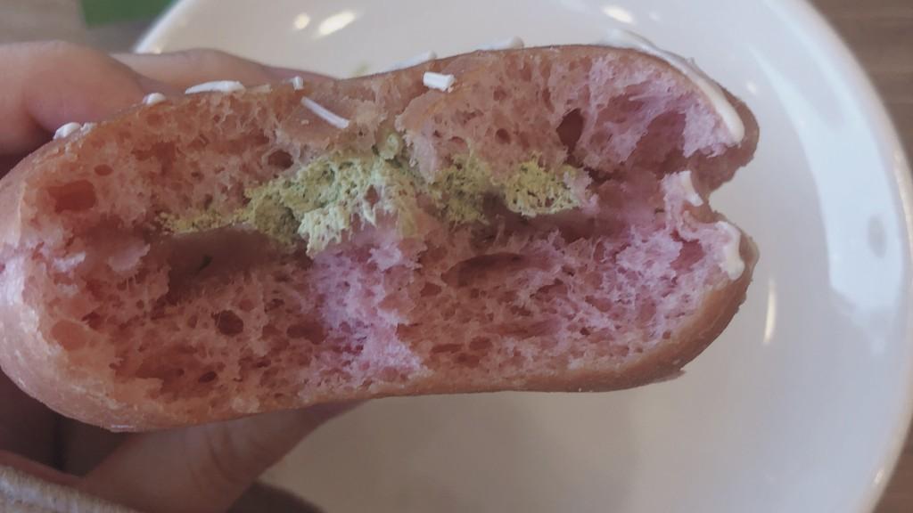 ミスドの「わらびもち桜あん&宇治抹茶ホイップ」の気になるお味は?