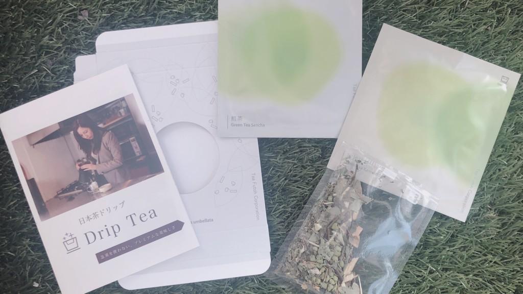 Drip Tea(ドリップティー)が到着
