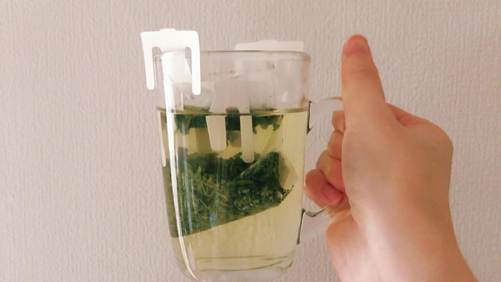 Drip Tea釜炒り茶の淹れ方