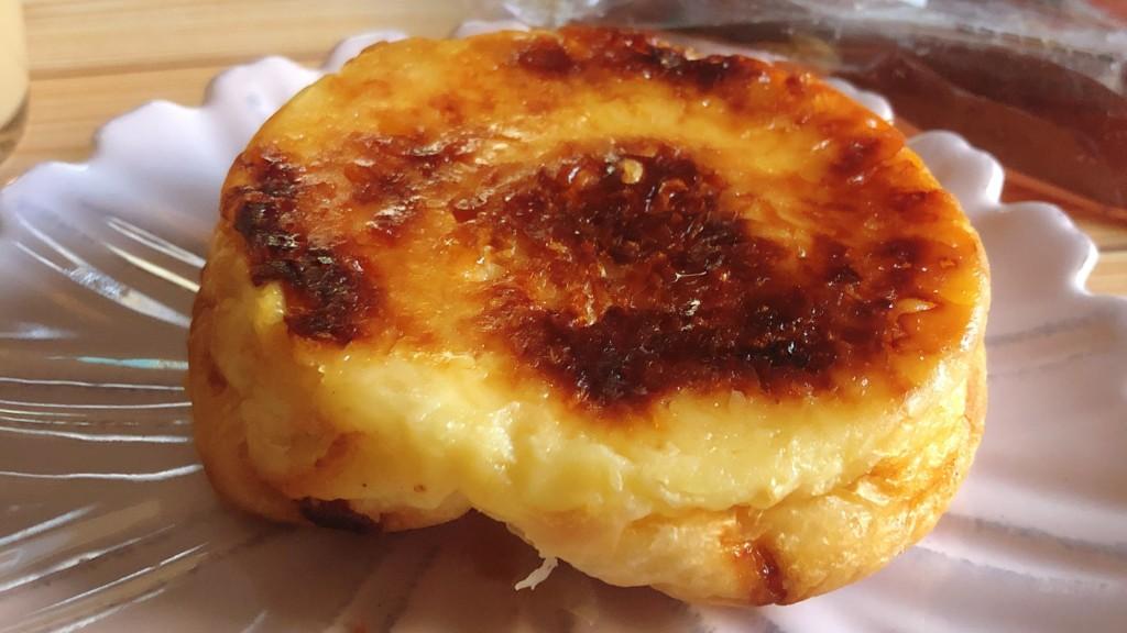 ローソンの「メープルチーズデニッシュ」の見た目