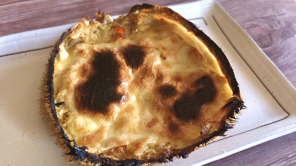 おうちで料亭の味!かに味噌チーズ甲羅焼きの作り方
