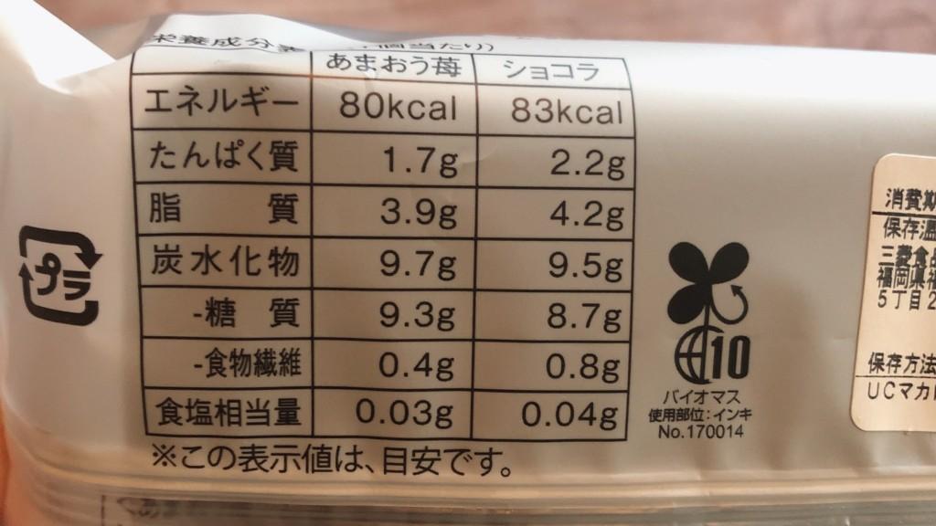 リニューアルした「マカロン あまおう苺&ショコラ」のカロリーと価格