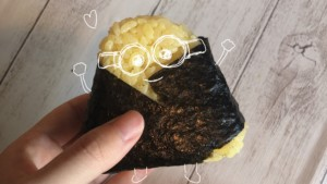 【ローソン】ミニオンズのカニ玉風おにぎりを実食レビュー!カロリーも紹介